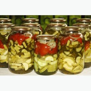 Соки натуральные, овощная консервация