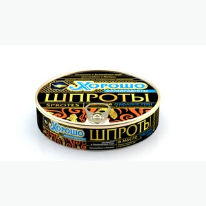 Консервы Шпроты в масле 160г