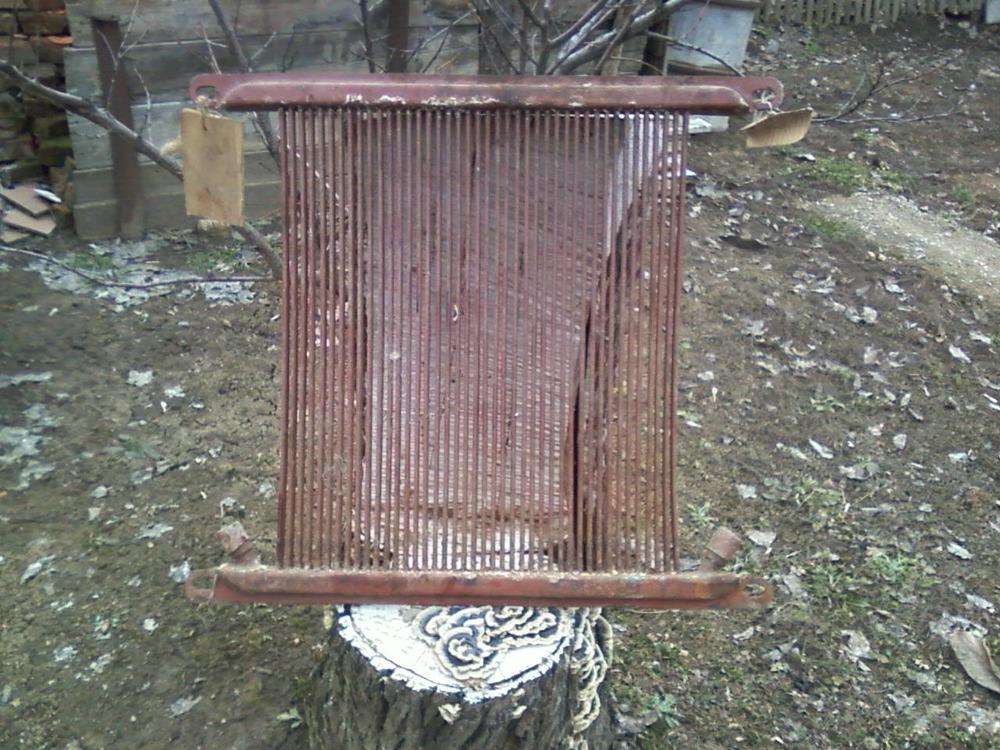 Радиатор масляный на трактор ДТ-75.